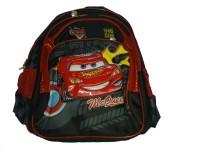 Babeezz Disney Cars Waterproof School Bag (Black, 17 L)