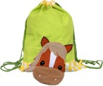 Little Pipal Backpack Farm Animals Junior Horse Drawstring Bag