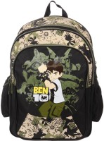 Ben 10 Ben 10 Waterproof Shoulder Bag (Black, 16 Inch)