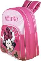 Disney Waterproof School Bag (Pink, 14 Inch)