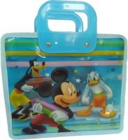 Shopx Waterproof Lunch Bag (Blue, 10 Inch)