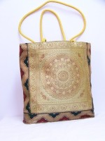 The Bedifferent Store Silk Thread Shoulder Bag Gold