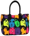 Carry On Bags Canvas & PU Bag Shoulder Bag - Black