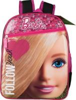 Barbie School Bag (Black, Pink, 14 Inch)