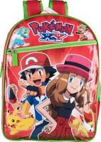 Pokemon School Bag (Red, 14 Inch)
