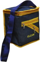 Gleam Mesh Padded Container Box Waterproof Lunch Bag (Blue, Yellow, 10 L)