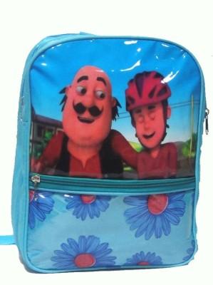 Riddi Impex Super Star School Bags Riddi Impex Super Star RI_MP_Blue Waterproof School Bag