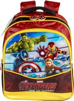 Marvel Avengers Age Of Ultron Backpack (Multicolor, 14 Inch)