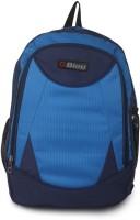 Bleu School Bag Waterproof Backpack (Blue, 17 Inch)