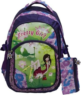 Fabion School Bags Fabion Pretty Girl Waterproof School Bag