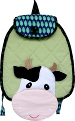 Little Pipal Backpack Farm Animals Cow Junior