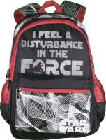 Star Wars Waterproof School Bag (Black, 19 Inch)