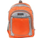 Bleu School Bag Waterproof Backpack - Orange, Grey