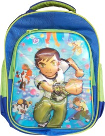 Majesty Ben 10 Waterproof School Bag