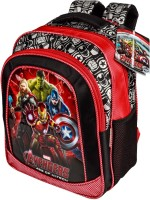 Marvel Avengers Age Of Ultron Backpack (Red, Black, 18 Inch)
