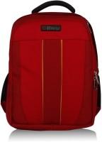 Bleu School Bag Waterproof Backpack (Red, 17 Inch)