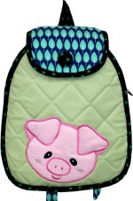 Little Pipal Backpack Farm Animals Piggy Junior