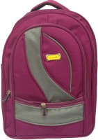 Pymo Backpack Waterproof School Bag (Pink, 20 L)