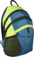 Zwart Zoni Waterproof School Bag (Blue, Green, 10 L)