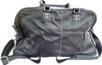 Shuaibkhan Leather Maxim Multipurpose Bag (Black, 12 L)