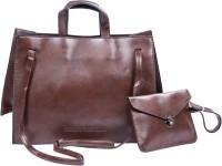 APE Women Bag Shoulder Bags (Brown, 12 L)