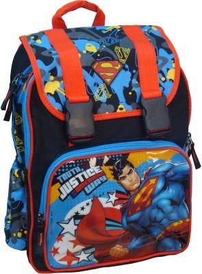 40% OFF on Starx Superman School Bag Waterproof Backpack Black ... 539ae751b6012