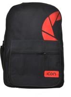ICON Waterproof School Bag (Black, 5 Inch)