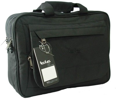 TLC Calculus 15.6 Laptop Bag Black available at Flipkart for Rs.1675