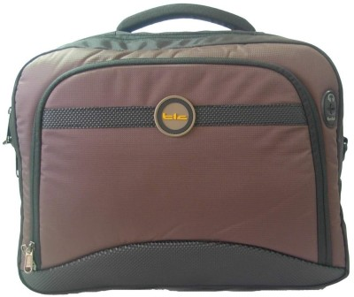 TLC Caliberate 15.6 Laptop Bag Brown available at Flipkart for Rs.2457