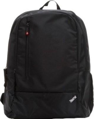 Lenovo Back Pack Laptop Bag Black available at Flipkart for Rs.998