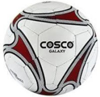Cosco Galaxy Football -   Size: 5,  Diameter: 6.9 Cm (Pack Of 1, White)