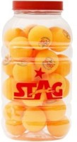 Stag One Star Pet Ping Pong Ball -   Size: 4,  Diameter: 4 Cm (Pack Of 96, Orange)