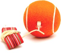 Megaplay Return Ball Tennis Ball -   Size: 2.5,  Diameter: 6.5 Cm (Pack Of 1, Orange)