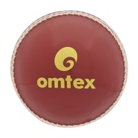 Omtex Prosoft Cricket Ball -   Size: 5.5,  Diameter: 2.5 Cm (Pack Of 1, Red)