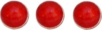 VSM Gold Star Two Piece Leather Ball Cricket Ball -   Size: Standard,  Diameter: 23 Cm (Pack Of 3, Red)