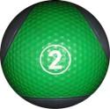 Cofit Golf Pattern Medicine Ball - Green, Blue