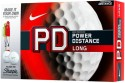 Nike Power Distance Long Golf Ball - Size: 4, Diameter: 4 Cm - Pack Of 12, White