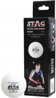 Stag Peter Karlsson 40+ Plastic Ping Pong Ball -   Size: 4,  Diameter: 4 Cm (Pack Of 30, White)