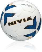 Nivia FB-292 Shining Star Football - Size: 5, Diameter: 20 Cm (Pack Of 1, White)