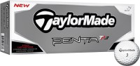Taylormade Penta TP3 Golf Ball (Pack Of 12, White)