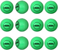 AVM Windball-16 Cricket Ball -   Size: Standard,  Diameter: 6.5 Cm (Pack Of 12, Green)