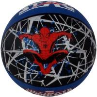 Marvel Spiderman Basketball -   Size: 5,  Diameter: 70 Cm (Pack Of 1, Blue, Black)