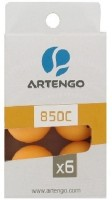 Artengo 850 C2 X6 Ping Pong Ball -   Size: 4,  Diameter: 4 Cm (Pack Of 6, Orange)