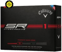 Callaway Regime Golf Ball -   Size: 4.27,  Diameter: 4.27 Cm (Pack Of 12, White)