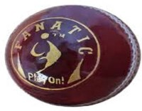 SM Fanatic Cricket Ball -   Size: 2.5,  Diameter: 2.5 Cm (Pack Of 1, Red)