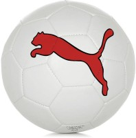 Puma Cat Force Football -   Size: 5,  Diameter: 2.5 Cm (Pack Of 1, White)