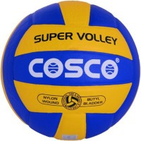 COSCO Super Volley Volleyball -   Size: 7,  Diameter: 21 Cm (Pack Of 1, Multicolor)
