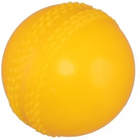 Sahni Sports Training PVC Cricket Ball -   Size: Standard,  Diameter: 7 Cm (Pack Of 6, Yellow)
