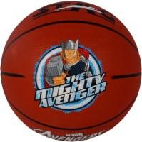 Disney Mighty Avenger Basketball -   Size: 5,  Diameter: 70 Cm (Pack Of 1, Red)
