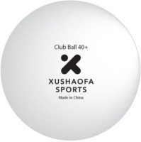 Xushaofa Seamless Club Poly Ping Pong Ball -   Size: 4,  Diameter: 4.01 Cm (Pack Of 6, White)